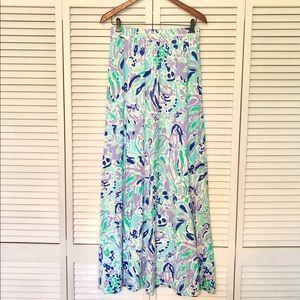 Lilly Pulitzer Nola A-Line Maxi Skirt